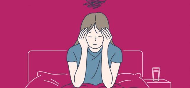 Dama, koja pati od klasične migrene sa aurom, se oseća dobro uz Omni-Biotic Migra